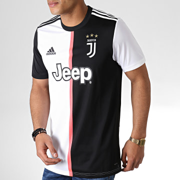 Maillot De Football Juventus Home DW5455 Noir Blanc
