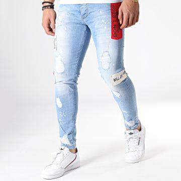 Jean Skinny 2586 Bleu Wash