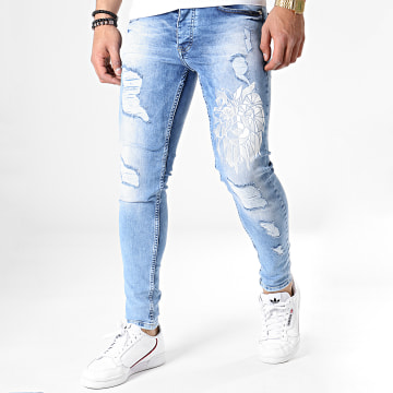 Jean Skinny 2588 Bleu Wash