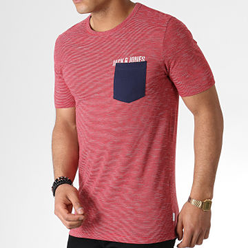Tee Shirt Poche Pocketer Rouge