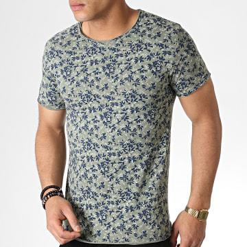 MTX - Tee Shirt TM0170 Vert Kaki Floral
