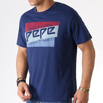 Pepe Jeans - Tee Shirt Dominik Bleu Marine