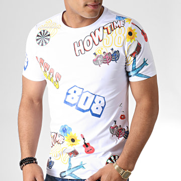 Tee Shirt 132 Blanc