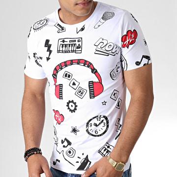 Tee Shirt 133 Blanc