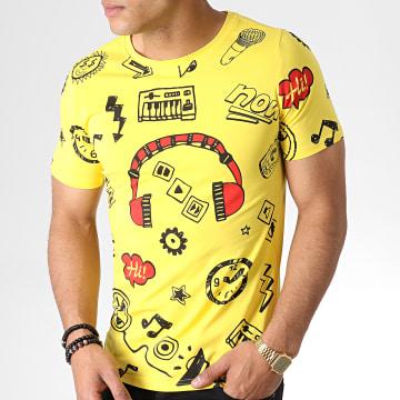 Tee Shirt 133 Jaune