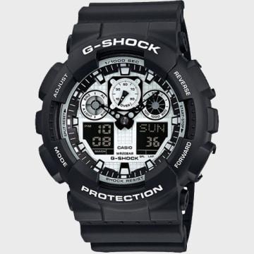 Montre G-Shock GA-100BW-1AER Noir