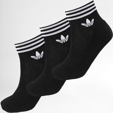 Adidas Originals - Lot De 3 Paires De Chaussettes Courtes EE1151 Noir