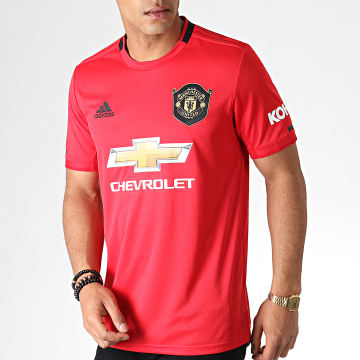 Adidas Performance - Maillot De Foot Manchester United FC ED7386 Rouge