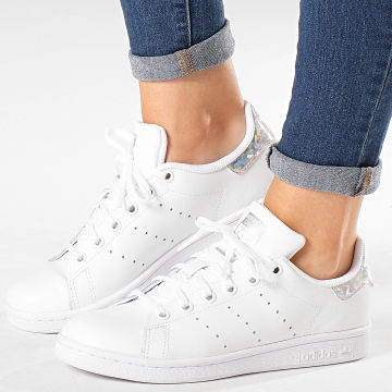 Adidas Originals - Baskets Femme Stan Smith EE8483 Footwear White Diamond
