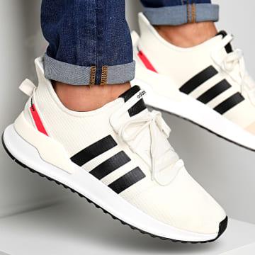 Adidas Originals - Baskets U Path Run EE4465 Original White Core Black Shoe Red
