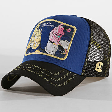 Casquette Trucker Minute Of Desperation Bleu Marine Noir