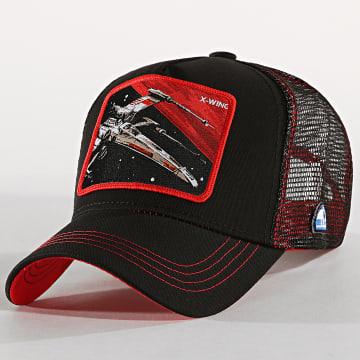 Casquette Trucker X-Wing Noir Rouge