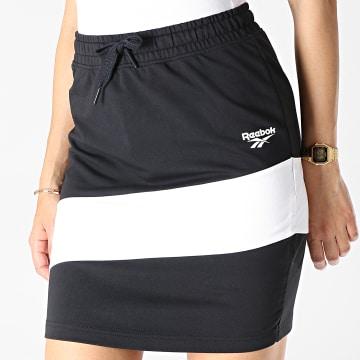 Jupe Femme Classic Vector Jersey EB5168 Noir Blanc