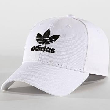 Adidas Originals - Casquette Baseball Classic Trefoil FJ2544 Blanc