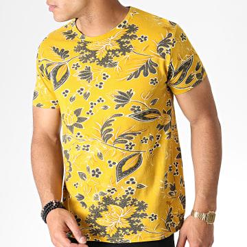 MTX - Tee Shirt Floral ZT5061 Jaune