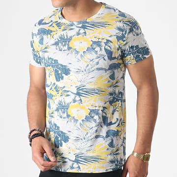 MTX - Tee Shirt ZT5057 Gris Floral