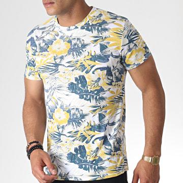 MTX - Tee Shirt ZT5057 Blanc Floral