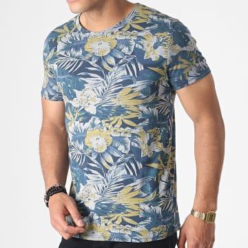 MTX - Tee Shirt ZT5057 Bleu Marine Floral