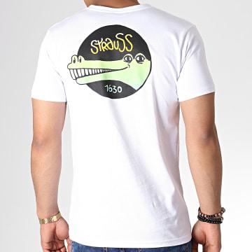 Roméo Elvis - Tee Shirt Croco 1630 Blanc