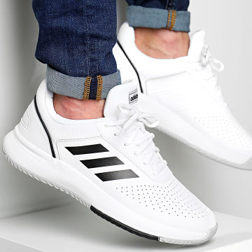 adidas - Baskets Courtsmash F36718 Footwear White Core Black Grey Two