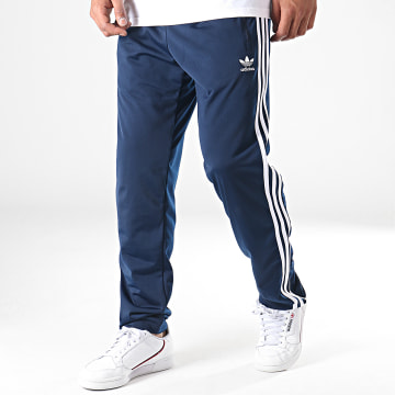 Adidas Originals - Pantalon Jogging A Bandes Firebird TP ED7010 Bleu Marine Blanc