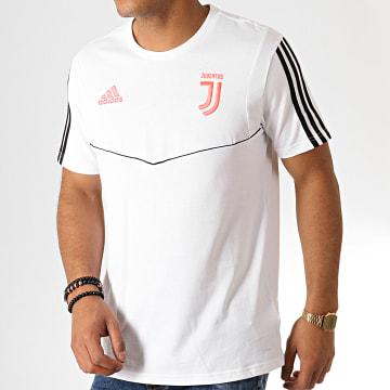 Adidas Performance - Tee Shirt A Bandes Juventus DX9132 Blanc