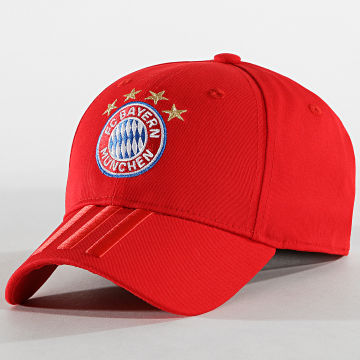 Adidas Performance - Casquette 3 Stripes Bayern München DY7677 Rouge