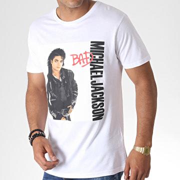 Michael Jackson - Tee Shirt MC448 Blanc