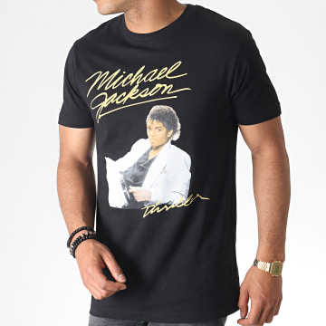 Michael Jackson - Tee Shirt MC451 Noir