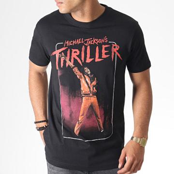 Michael Jackson - Tee Shirt MC452 Noir Rouge