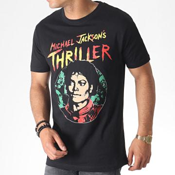 Michael Jackson - Tee Shirt MC453 Noir