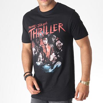 Michael Jackson - Tee Shirt MC454 Noir Rouge