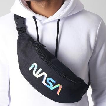 NASA - Sacoche Banane Iridescent Worm Logo Noir