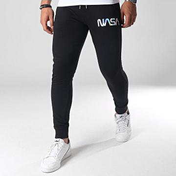 NASA - Pantalon Jogging Iridescent Worm Logo Noir