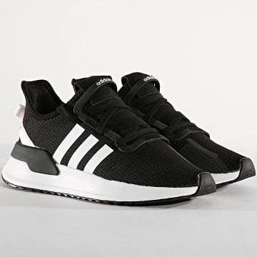 Adidas Originals - Baskets Femme U Path G28108 Core Black Footwear White Shock Red