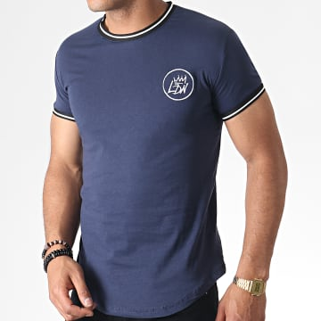 Tee Shirt Oversize 280 Bleu Marine