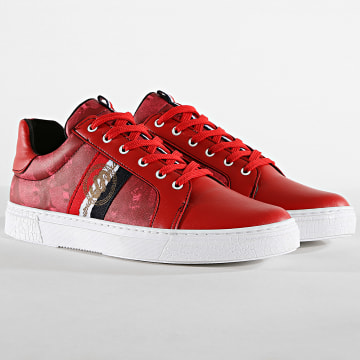 Baskets 633-09 Rouge
