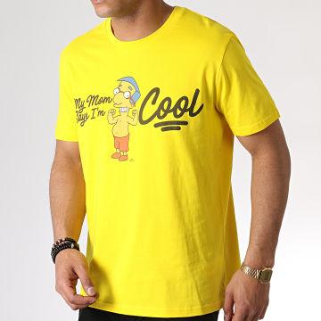 The Simpsons - Tee Shirt I'm Cool Jaune