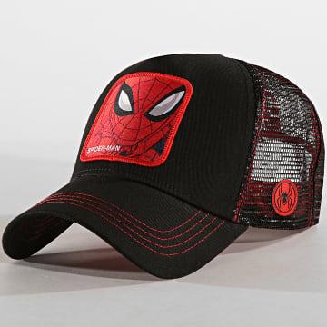 Casquette Trucker Spider-Man Noir