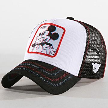 Casquette Trucker Mickey Noir Blanc