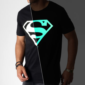 DC Comics - Tee Shirt Glow In The Dark Noir