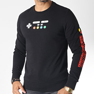 Sweat Crewneck Nintendo Noir