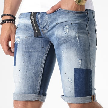 Short Jean C9814 Bleu Denim