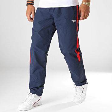 Pantalon Jogging Classics EC4554 Bleu Marine Rouge