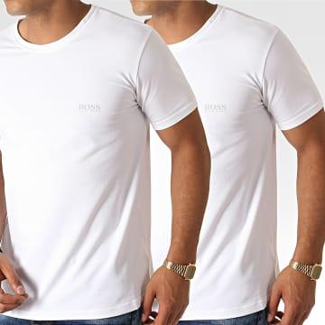 Hugo Boss - Lot De 2 Tee Shirts 50325405 Blanc
