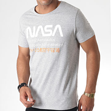 NASA - Tee Shirt Admin 2 Gris Chiné