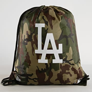 Sac Gym Bag Los Angeles Dodgers Camouflage Vert Kaki