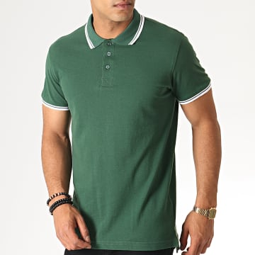 Polo Manches Courtes 69 Heroe Vert Blanc