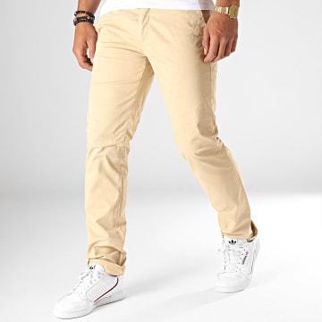 Celio - Pantalon Chino Pobelt Beige