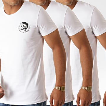 Lot de 3 Tee Shirt All Timers Randal 00SJ5L-0TANL Blanc